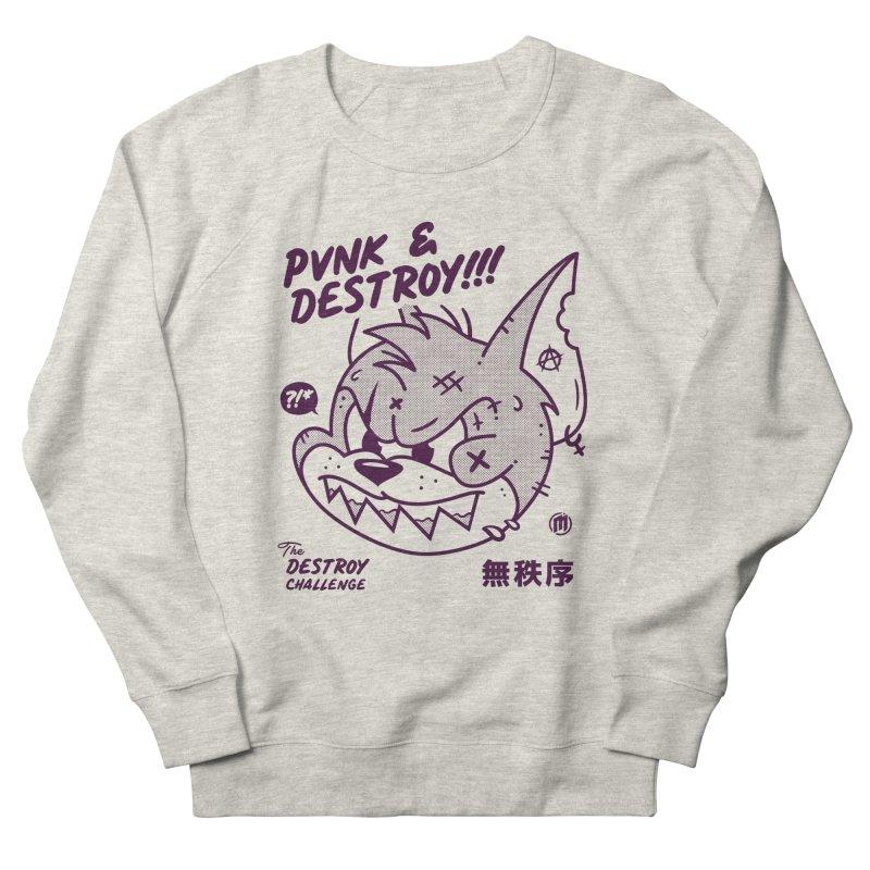 Punk & Destroy Men's French Terry Sweatshirt by MXM — ltd. collection