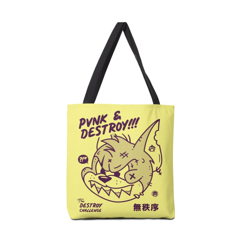 Punk & Destroy Accessories Tote Bag Bag by MXM — ltd. collection