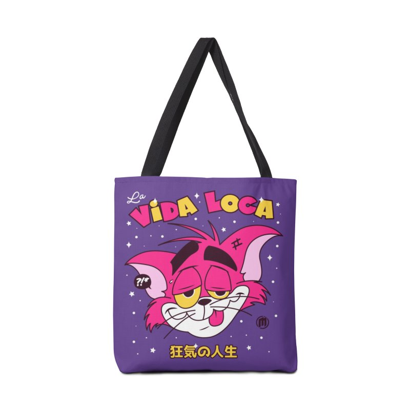 La Vida Loca Accessories Tote Bag Bag by MXM — ltd. collection