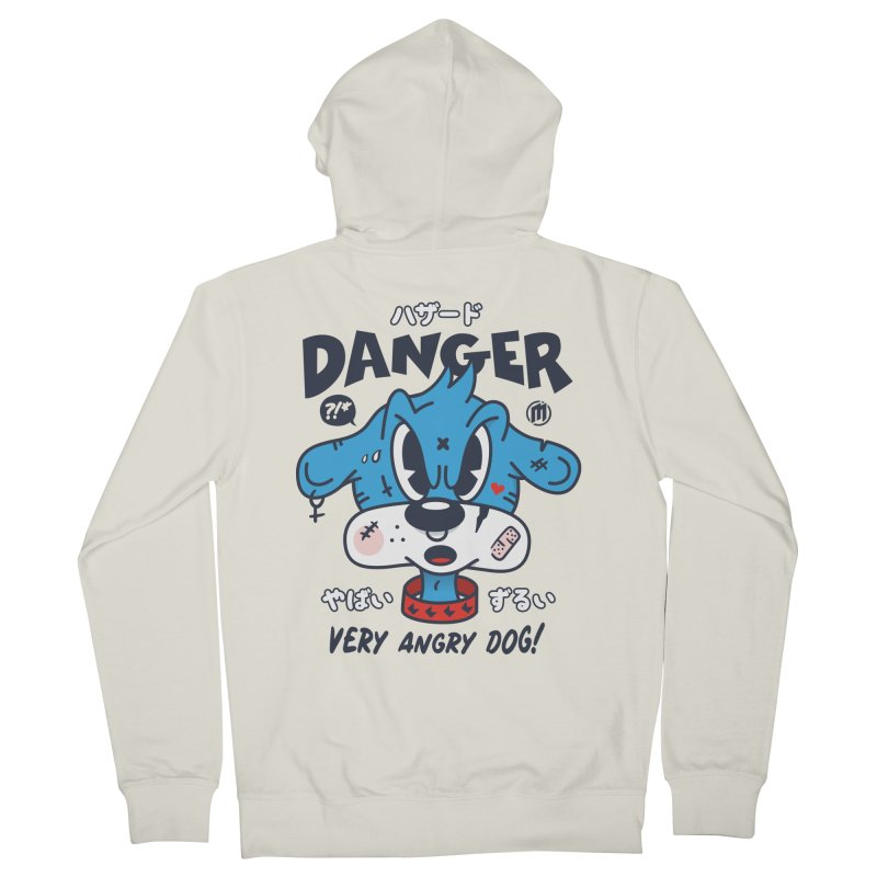 Danger Women's French Terry Zip-Up Hoody by MXM — ltd. collection