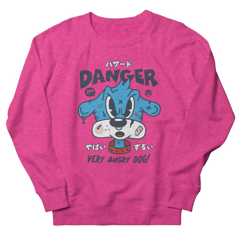 Danger Women's French Terry Sweatshirt by MXM — ltd. collection