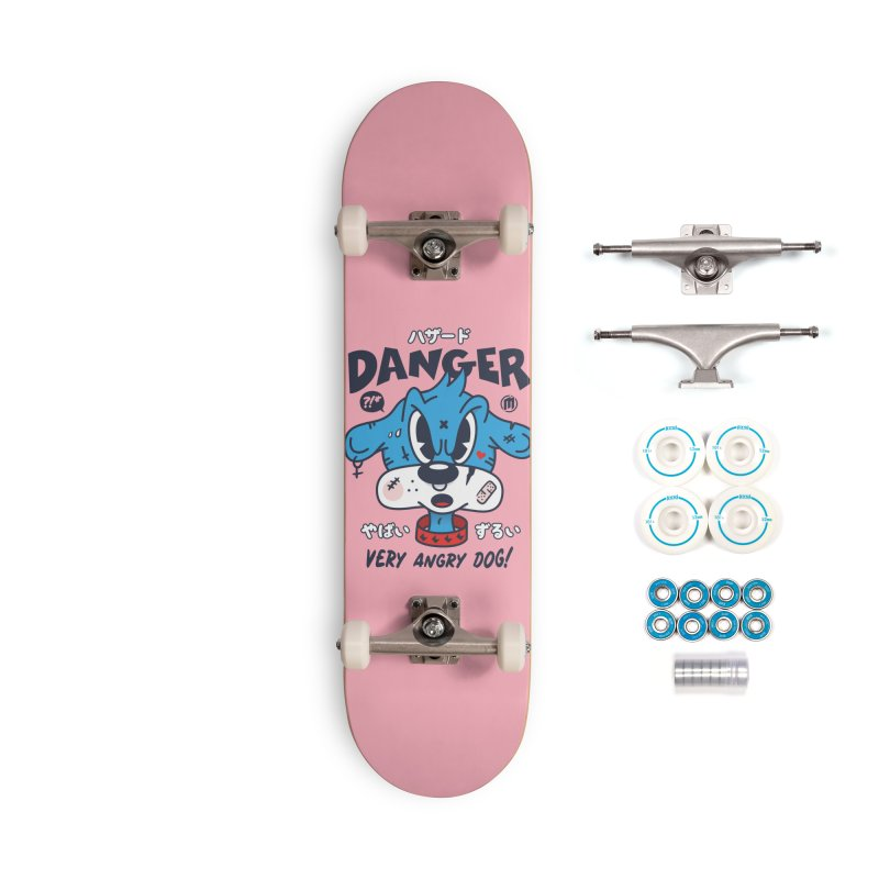 Danger Accessories Complete - Basic Skateboard by MXM — ltd. collection