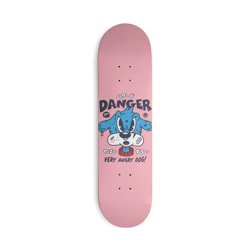 Danger Accessories Deck Only Skateboard by MXM — ltd. collection
