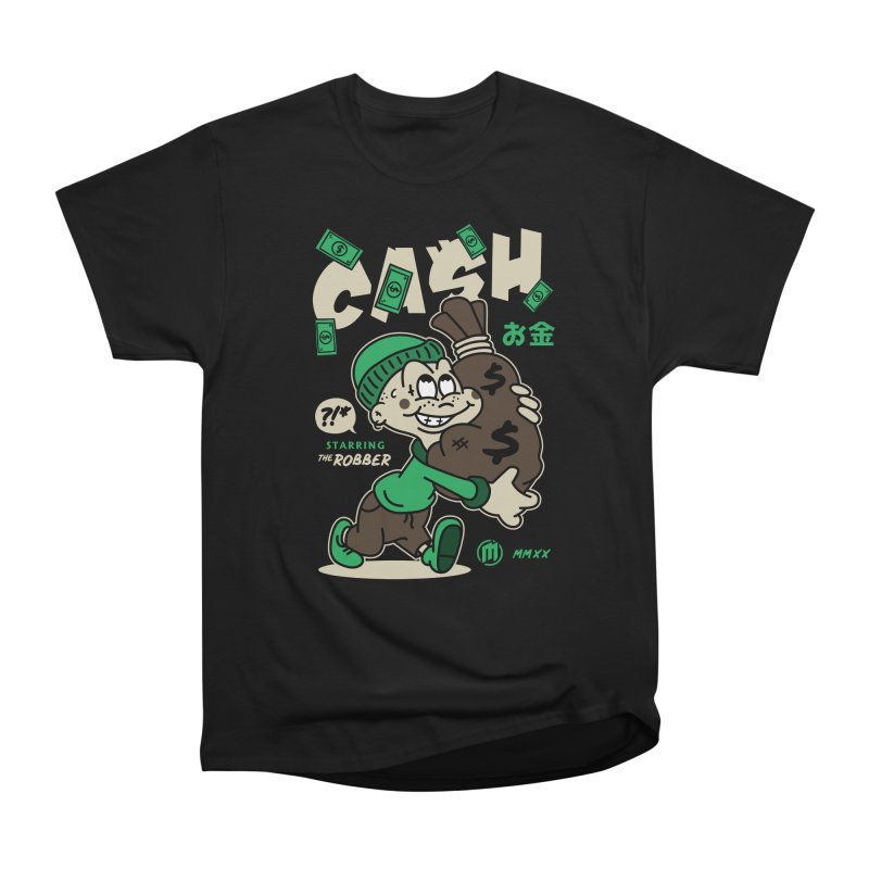 CA$H Men's T-Shirt by MAXIMOGRAFICO Ltd. Collection