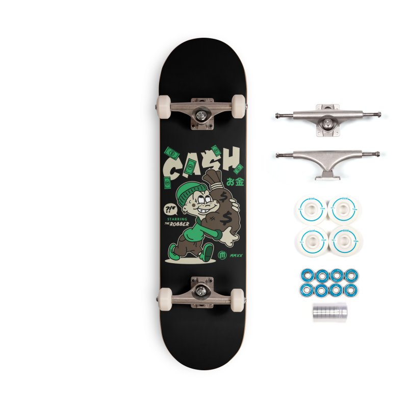 CA$H Accessories Complete - Basic Skateboard by MXM — ltd. collection