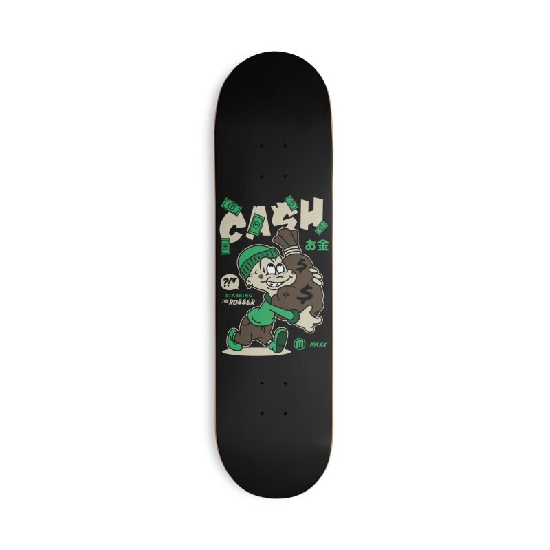 CA$H Accessories Deck Only Skateboard by MXM — ltd. collection