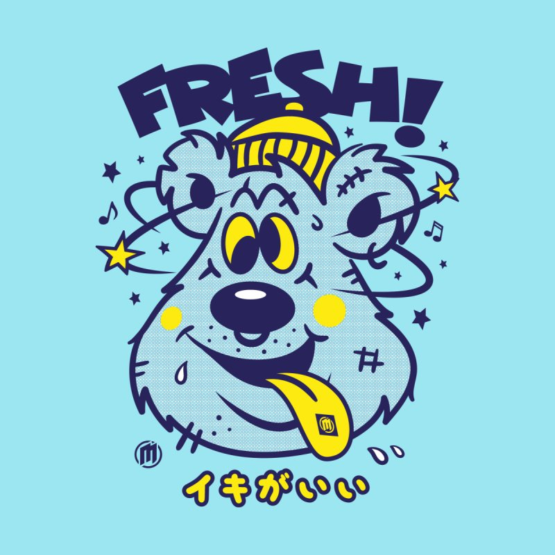 FRE$H Men's T-Shirt by MAXIMOGRAFICO Ltd. Collection