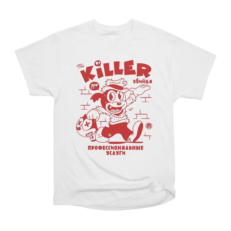 The Killer Men's Heavyweight T-Shirt by MXM — ltd. collection