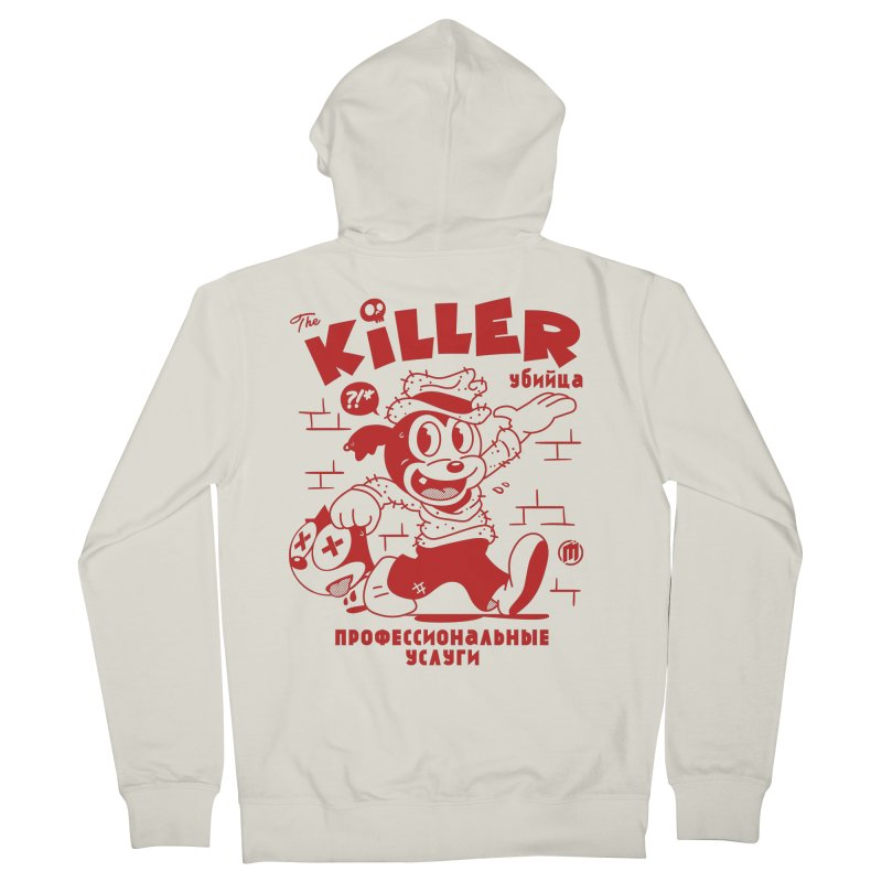 The Killer Men's Zip-Up Hoody by MXM — ltd. collection