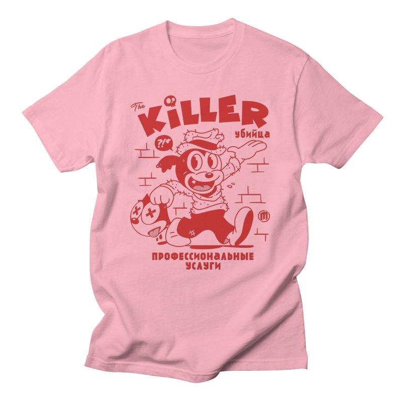 The Killer Men's Regular T-Shirt by MXM — ltd. collection