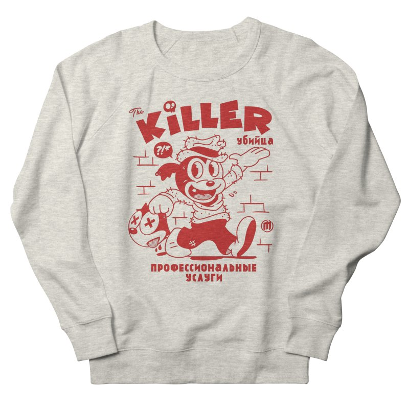 The Killer Women's French Terry Sweatshirt by MXM — ltd. collection