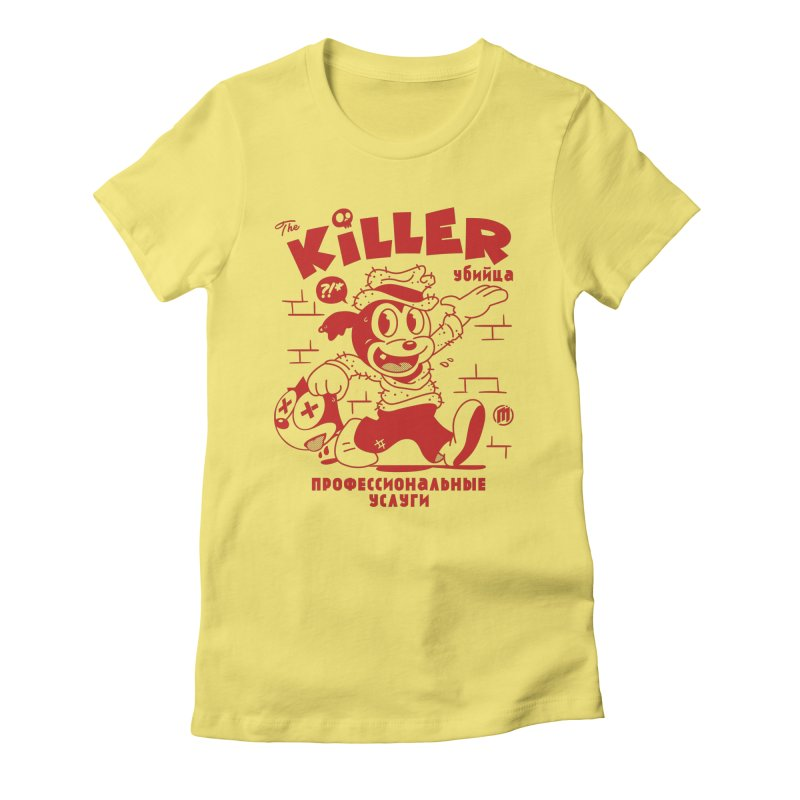 The Killer Women's T-Shirt by MXM — ltd. collection