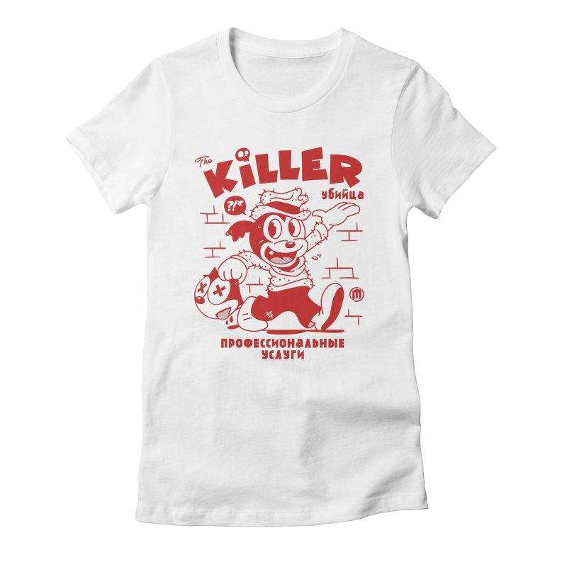 The Killer Women's Fitted T-Shirt by MXM — ltd. collection