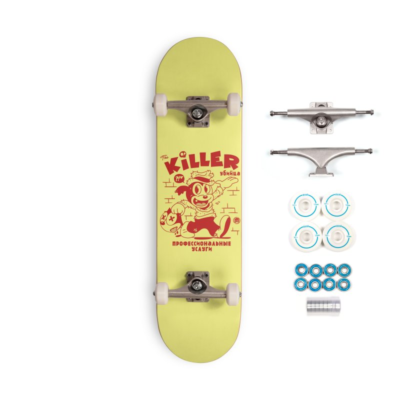 The Killer Accessories Complete - Basic Skateboard by MXM — ltd. collection