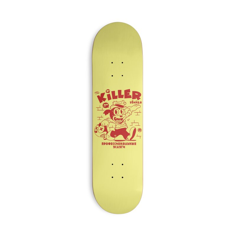 The Killer Accessories Deck Only Skateboard by MXM — ltd. collection