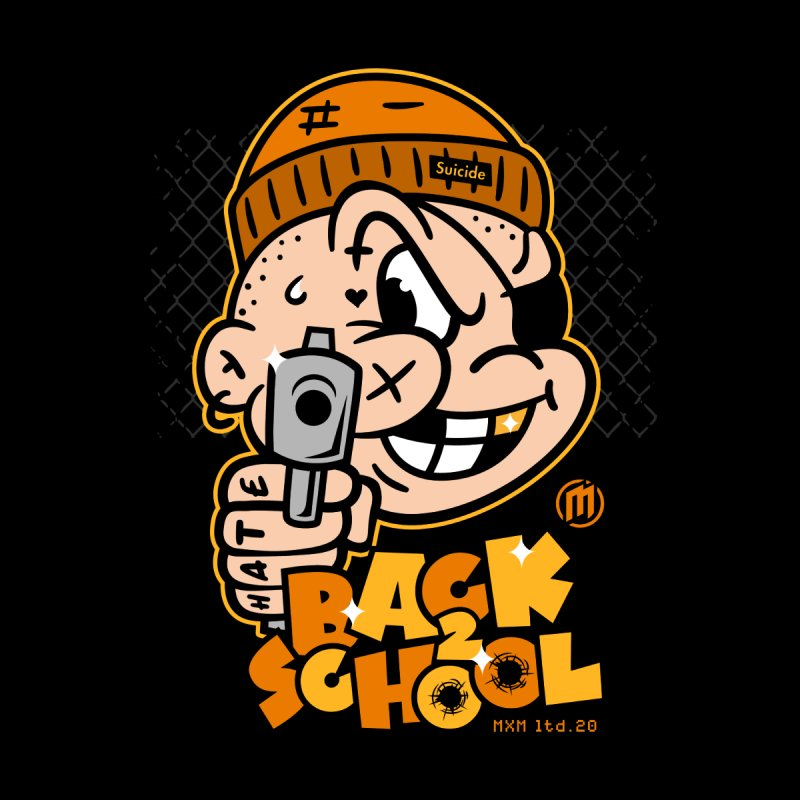 Back 2 School Men's T-Shirt by MXM — ltd. collection