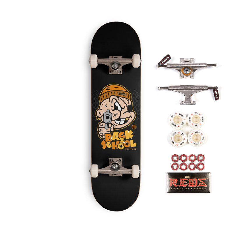 Back 2 School Accessories Skateboard by MXM — ltd. collection