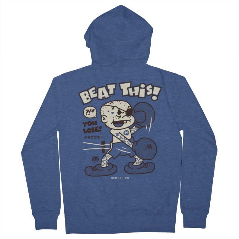 Beat This Men's French Terry Zip-Up Hoody by MXM — ltd. collection