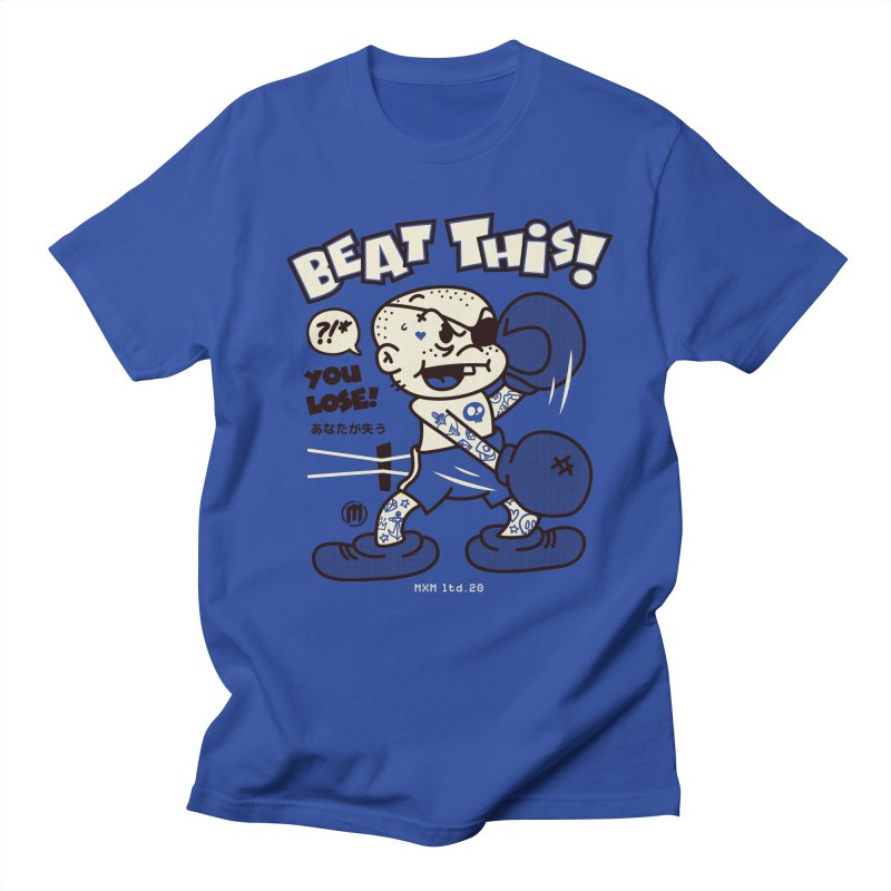 Beat This Men's Regular T-Shirt by MXM — ltd. collection