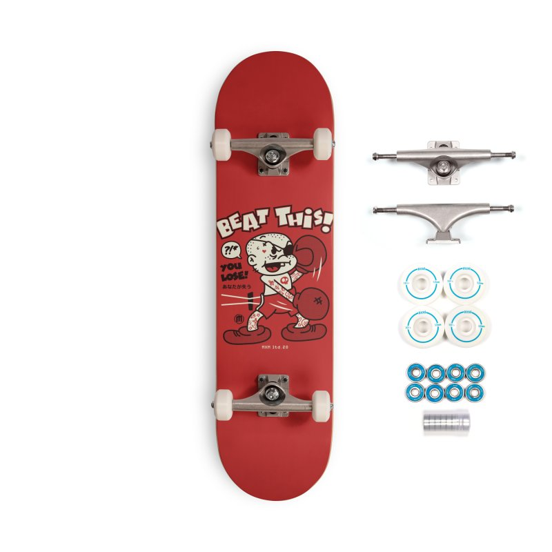 Beat This Accessories Skateboard by MXM — ltd. collection
