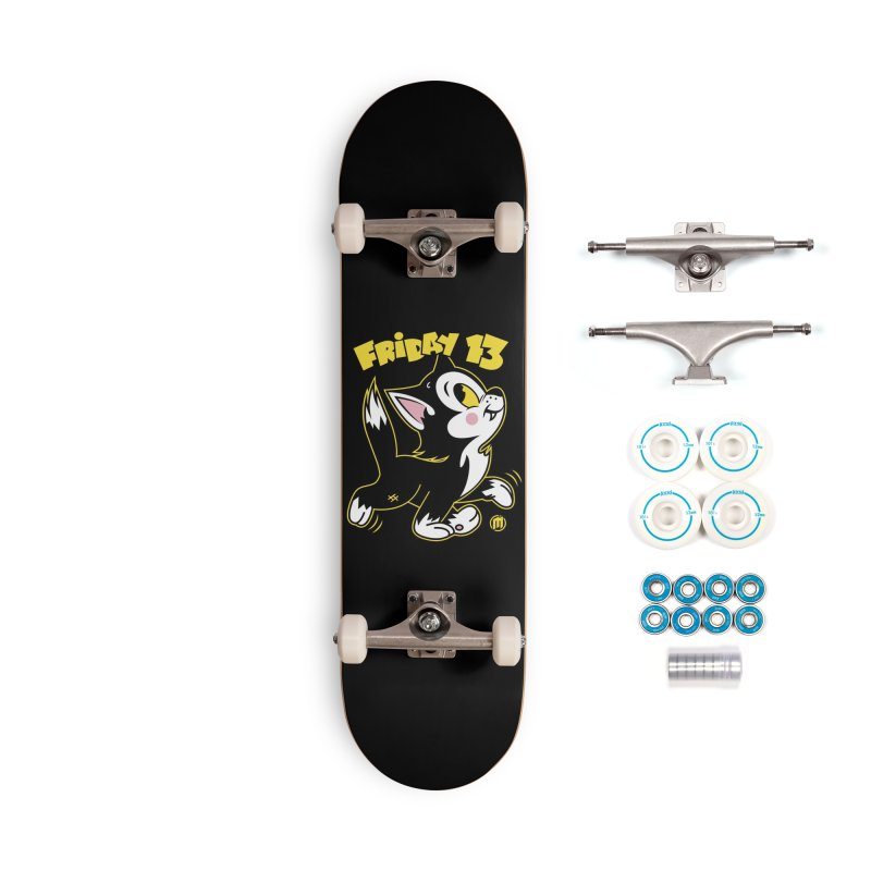 Friday 13 Accessories Complete - Basic Skateboard by MXM — ltd. collection