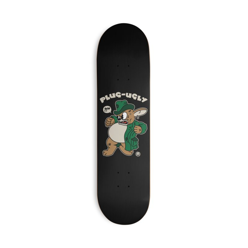 Plug-Ugly Accessories Deck Only Skateboard by MXM — ltd. collection