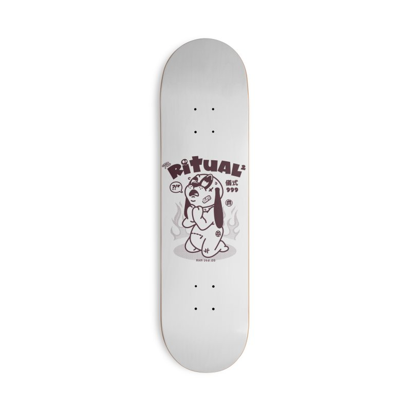 Ritual Accessories Deck Only Skateboard by MXM — ltd. collection