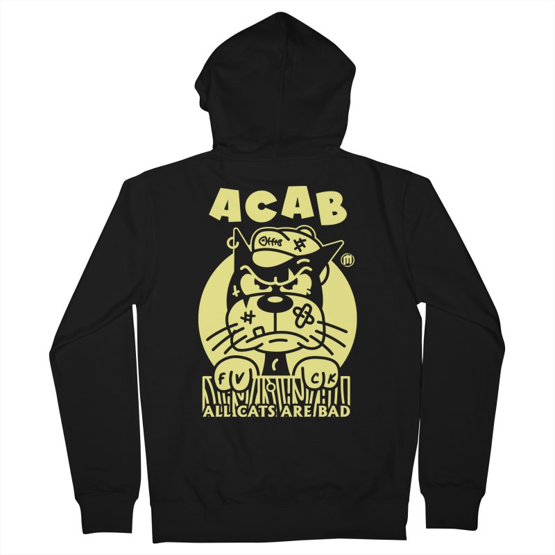 ACAB Women's French Terry Zip-Up Hoody by MXM — ltd. collection