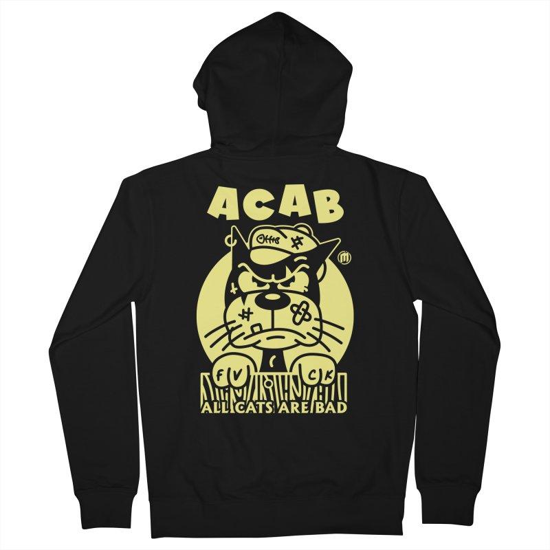 ACAB Men's Zip-Up Hoody by MAXIMOGRAFICO Ltd. Collection