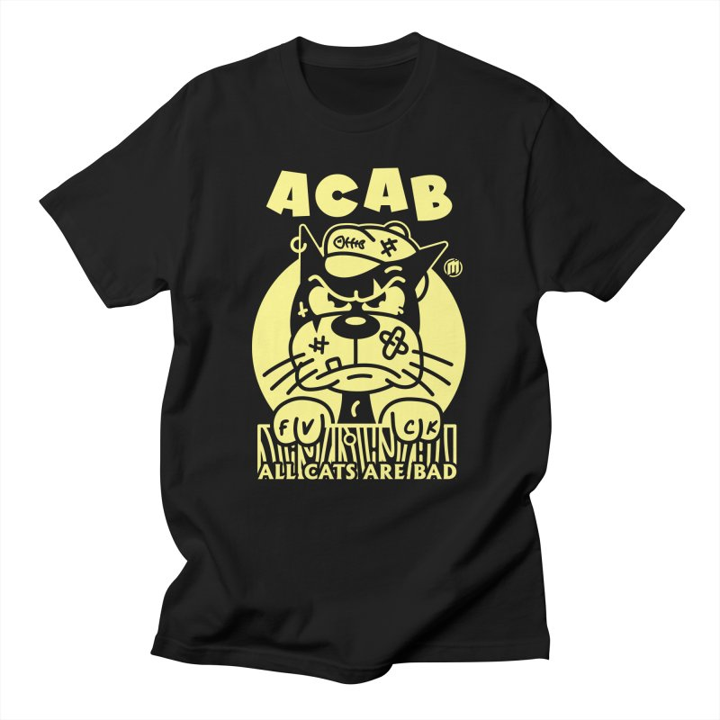 ACAB Men's T-Shirt by MAXIMOGRAFICO Ltd. Collection
