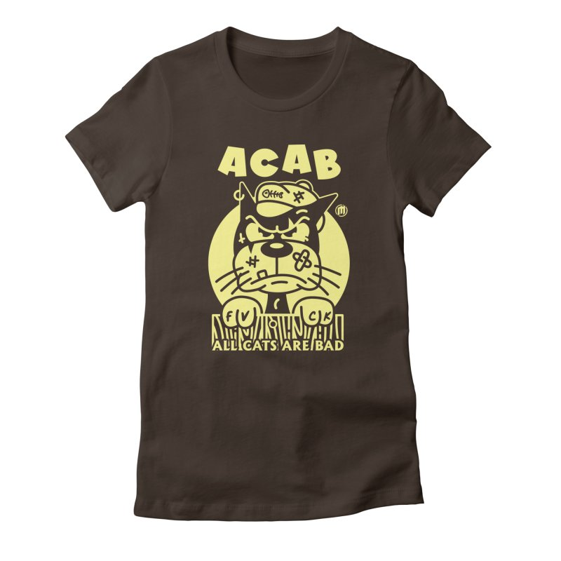 ACAB fitted T-Shirt by MAXIMOGRAFICO Ltd. Collection