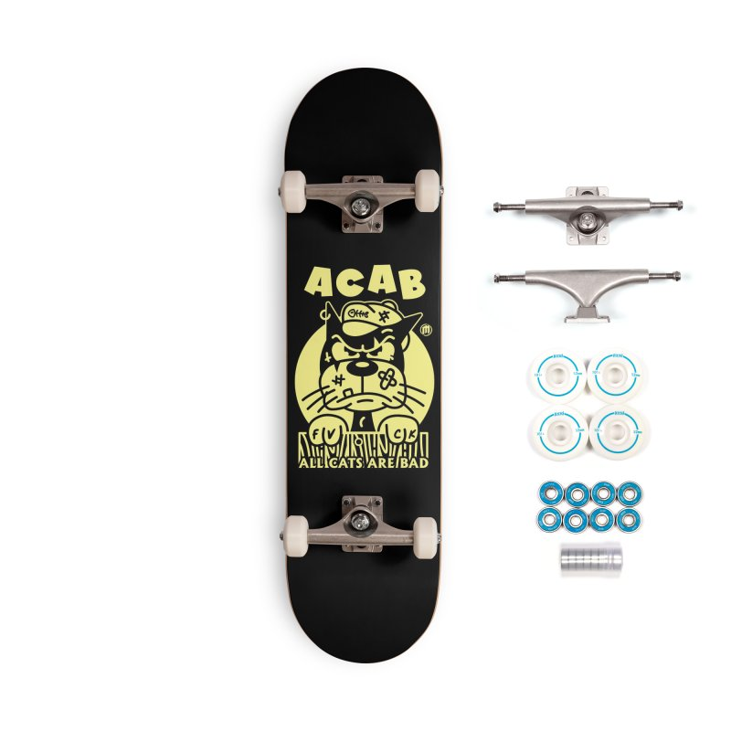 ACAB Accessories Complete - Basic Skateboard by MXM — ltd. collection