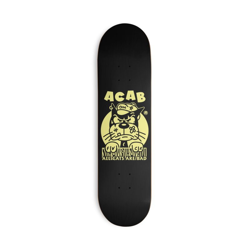ACAB Accessories Deck Only Skateboard by MXM — ltd. collection