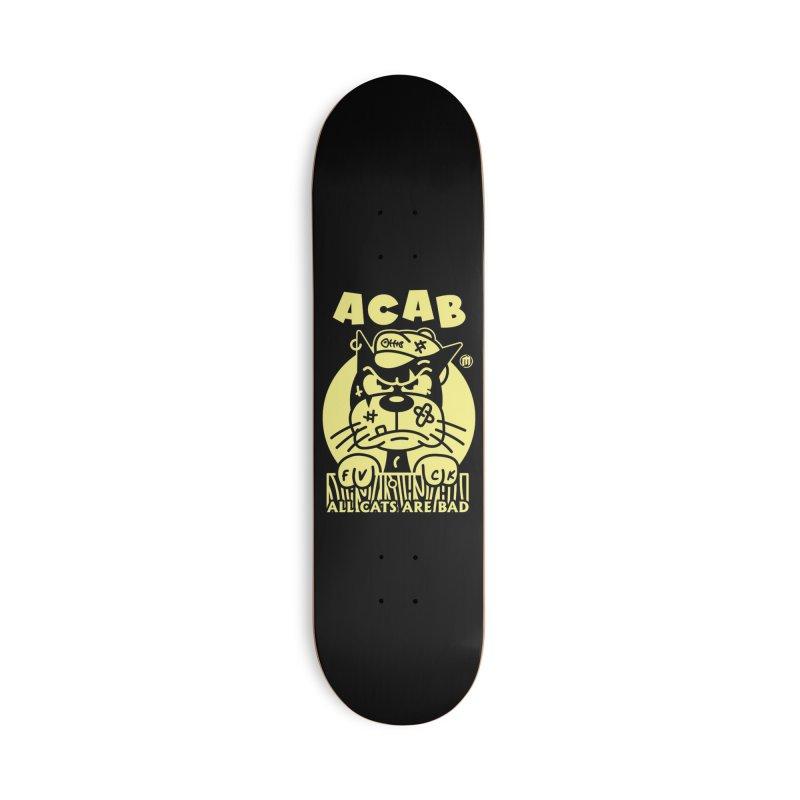 ACAB Skater's Skateboard by MAXIMOGRAFICO Ltd. Collection