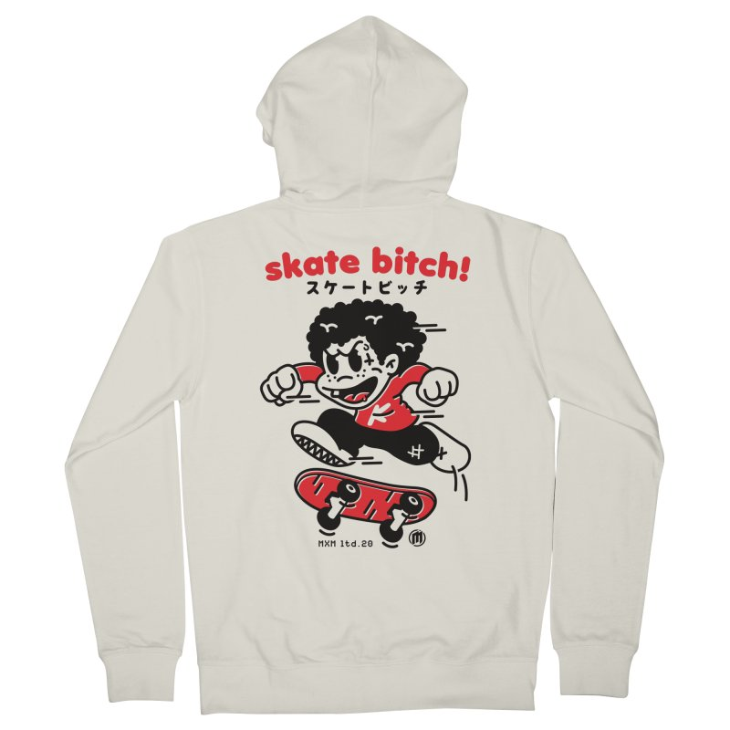 Skate Bitch! Men's French Terry Zip-Up Hoody by MXM — ltd. collection
