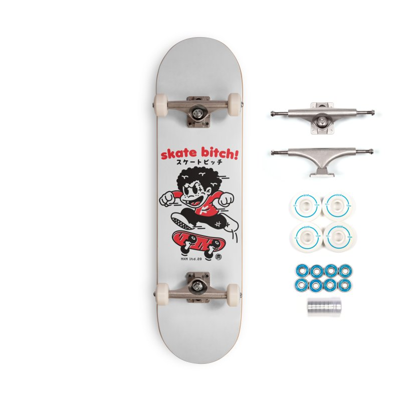 Skate Bitch! Accessories Complete - Basic Skateboard by MXM — ltd. collection