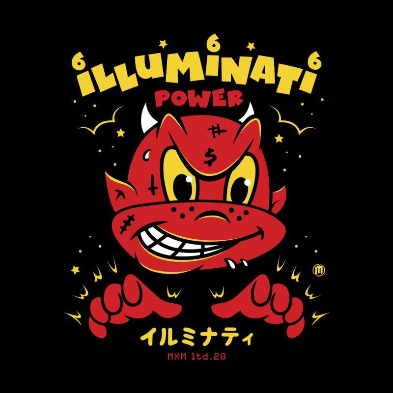 Illuminati Power Men's T-Shirt by MAXIMOGRAFICO Ltd. Collection
