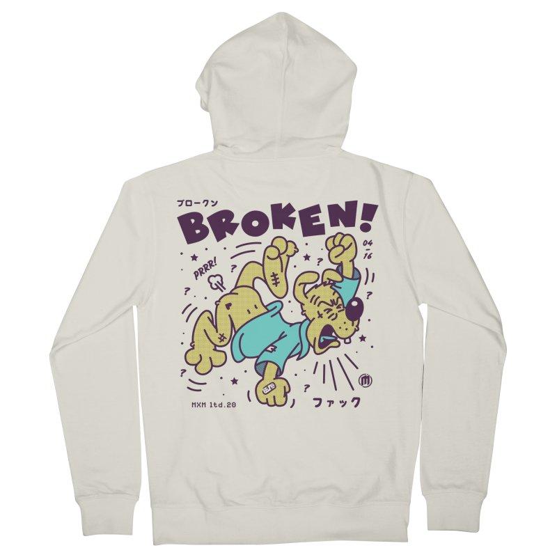 Broken! Women's Zip-Up Hoody by MXM — ltd. collection