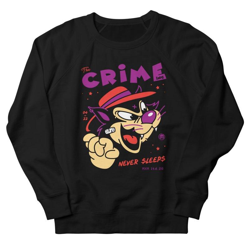 Never Sleeps Men's Sweatshirt by MXM — ltd. collection