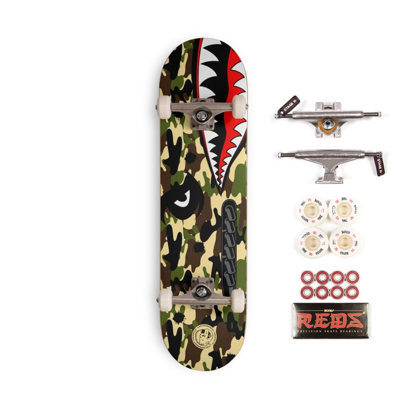 WWII Accessories Skateboard by MXM — ltd. collection