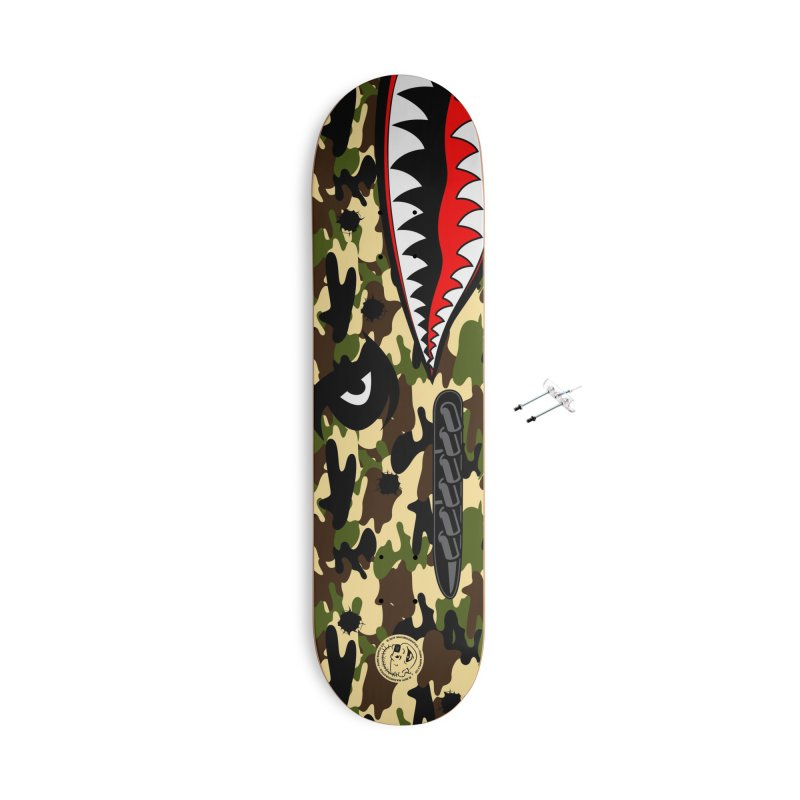 WWII skaters Skateboard by MAXIMOGRAFICO Ltd. Collection