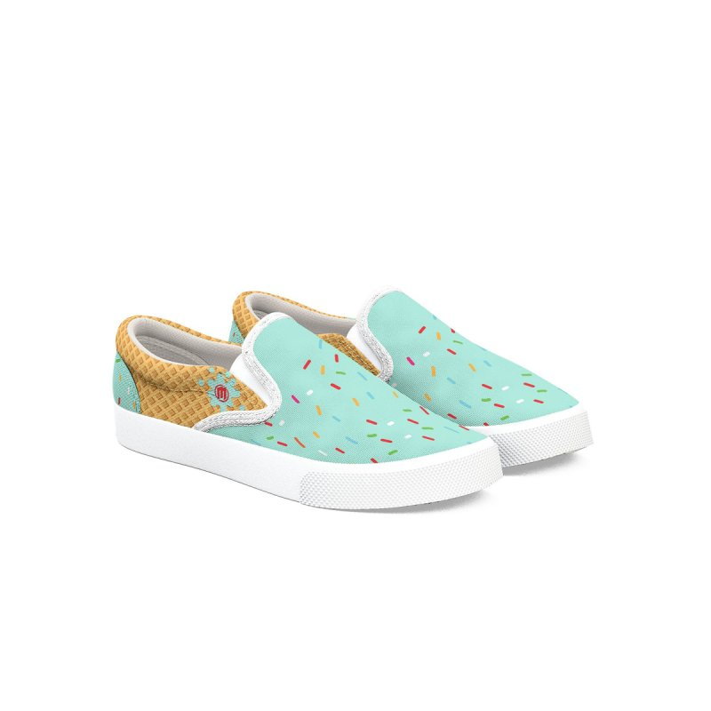 Ice Cream Men's Shoes by MAXIMOGRAFICO Ltd. Collection