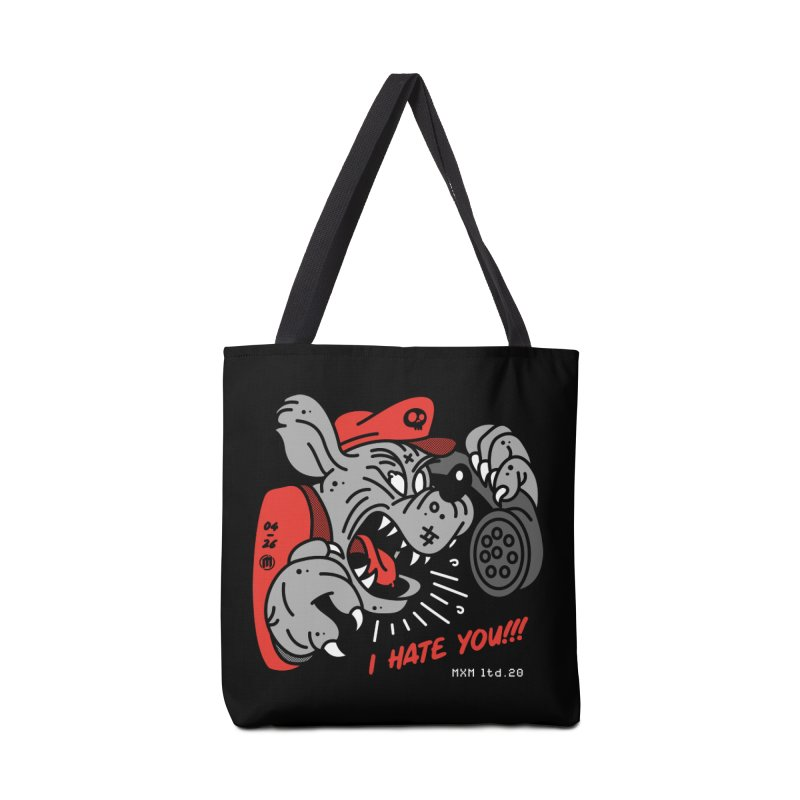 I Hate U Accessories Bag by MAXIMOGRAFICO Ltd. Collection