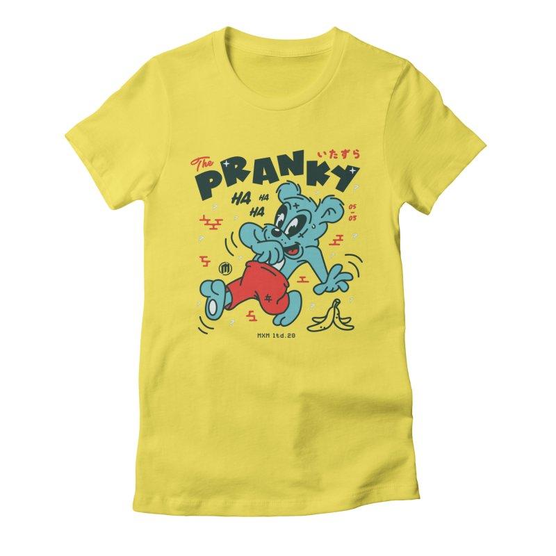 Pranky Women's T-Shirt by MXM — ltd. collection