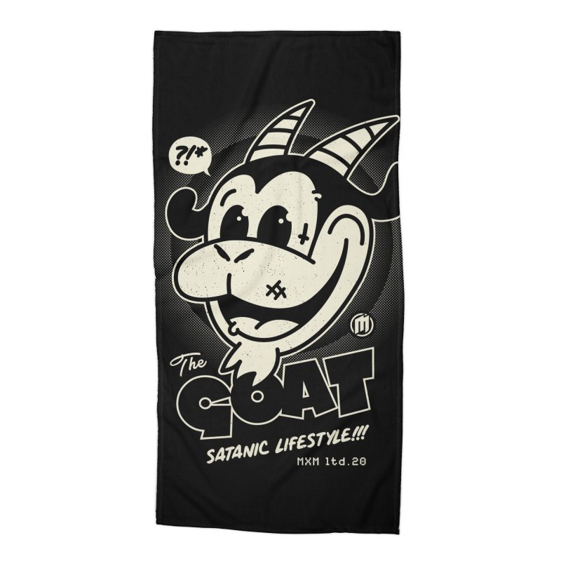 GOAT Accessories Beach Towel by MXM — ltd. collection