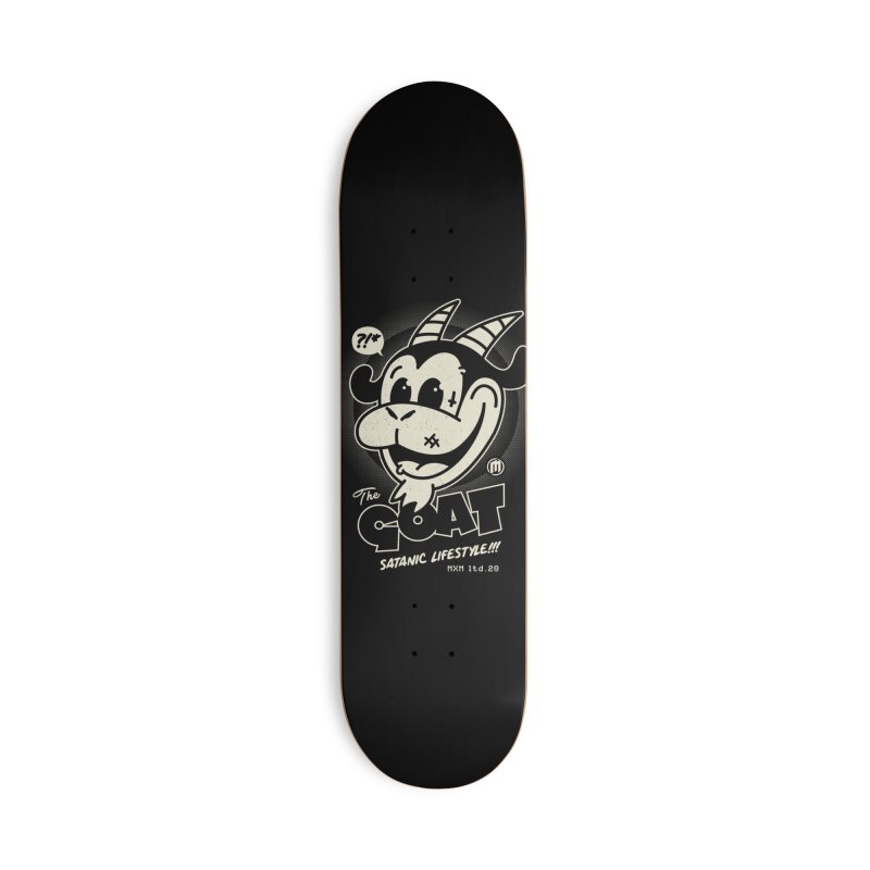 GOAT skaters Skateboard by MAXIMOGRAFICO Ltd. Collection