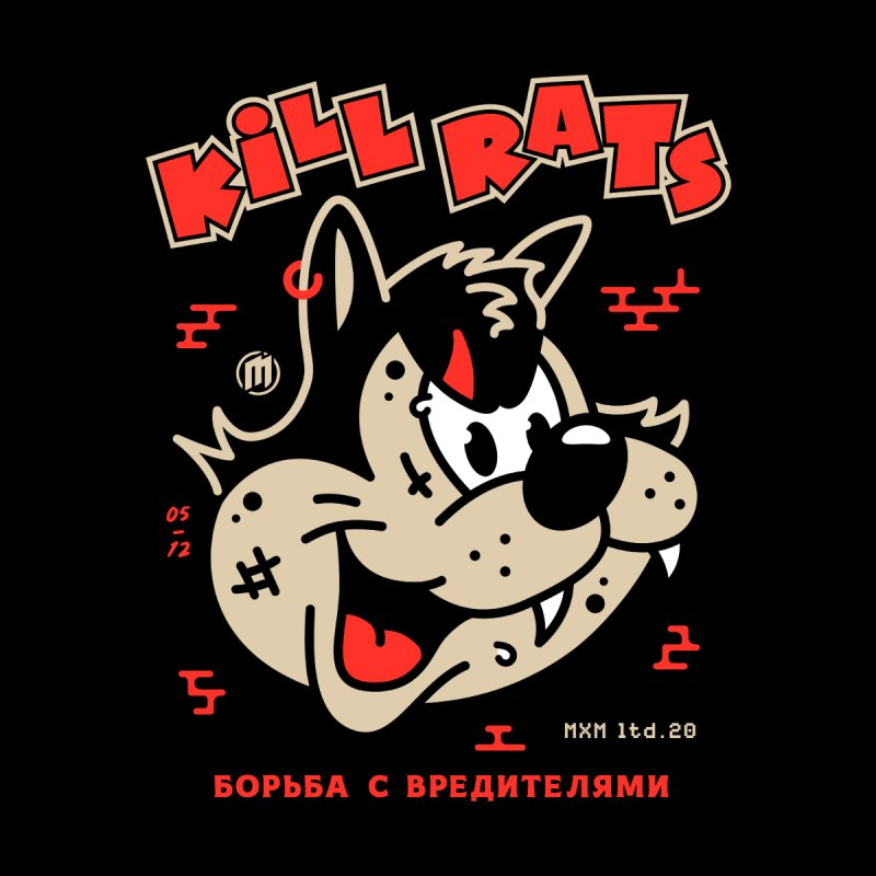 Kill Rats Women's T-Shirt by MXM — ltd. collection