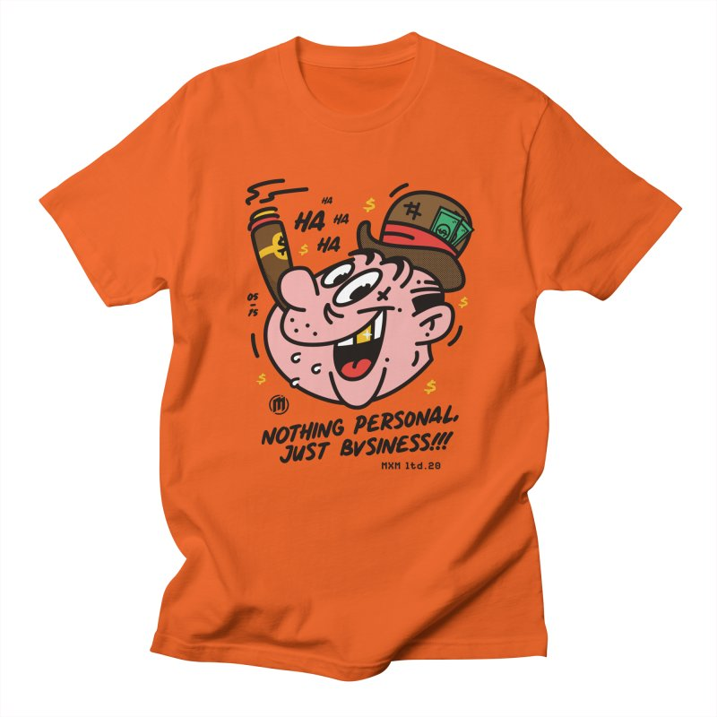 Just Business Men's T-Shirt by MAXIMOGRAFICO Ltd. Collection
