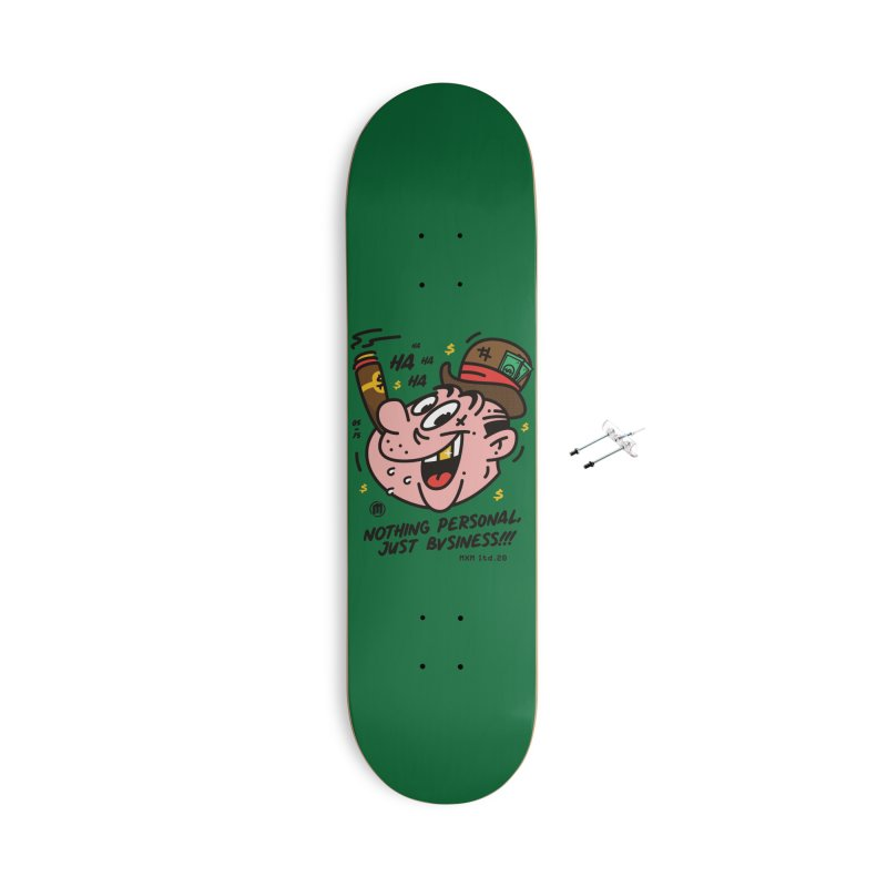 Just Business Accessories Skateboard by MXM — ltd. collection