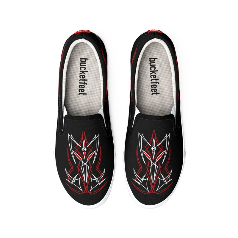 Pinstripes Women's Shoes by MAXIMOGRAFICO Ltd. Collection